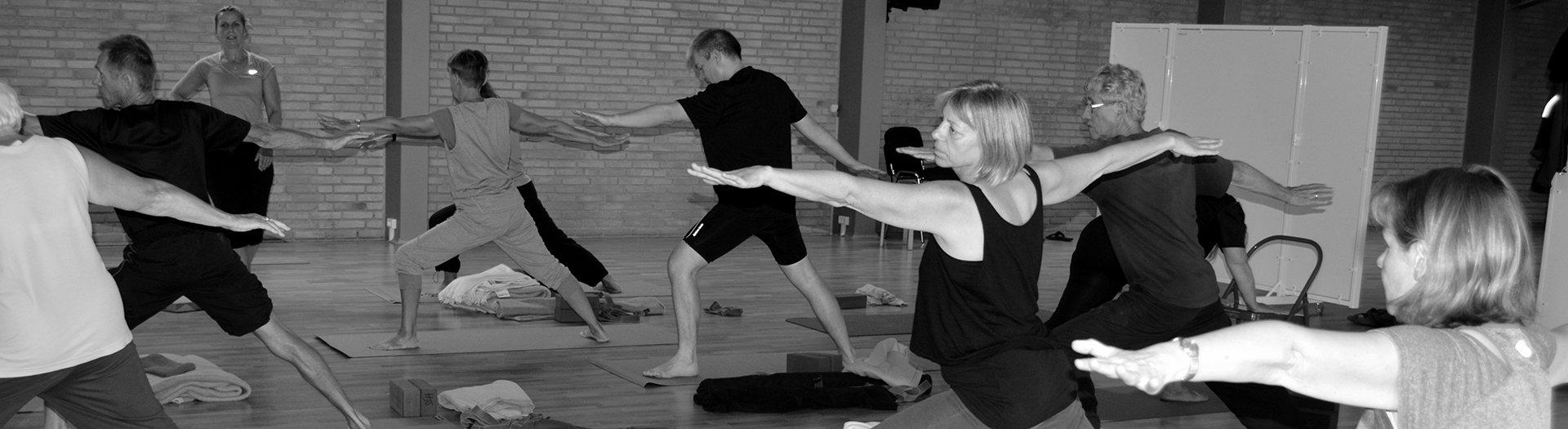 yoga og højskole Iyengar hatha ashtanga  gyrokinesis meditation på nørgaards højskole 1920 2