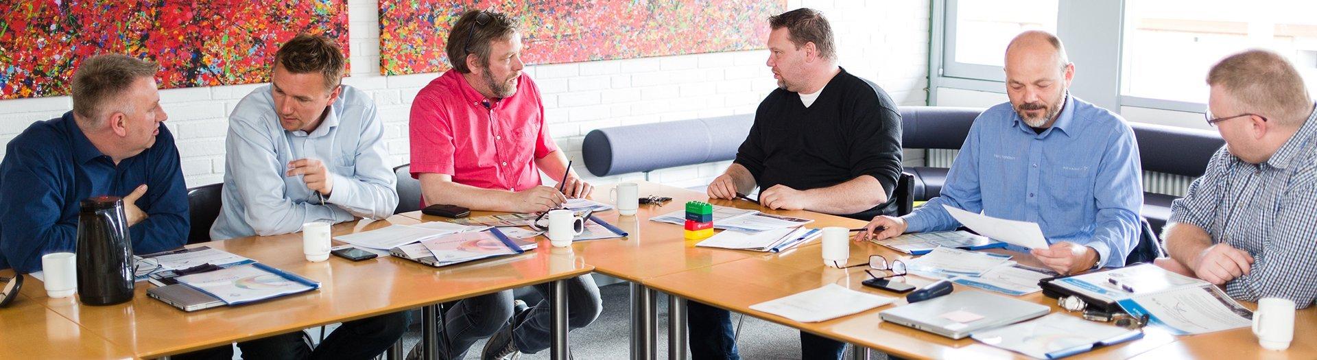 dagsmøde erhverv institution private Nørgaards Højskole faciliteter web