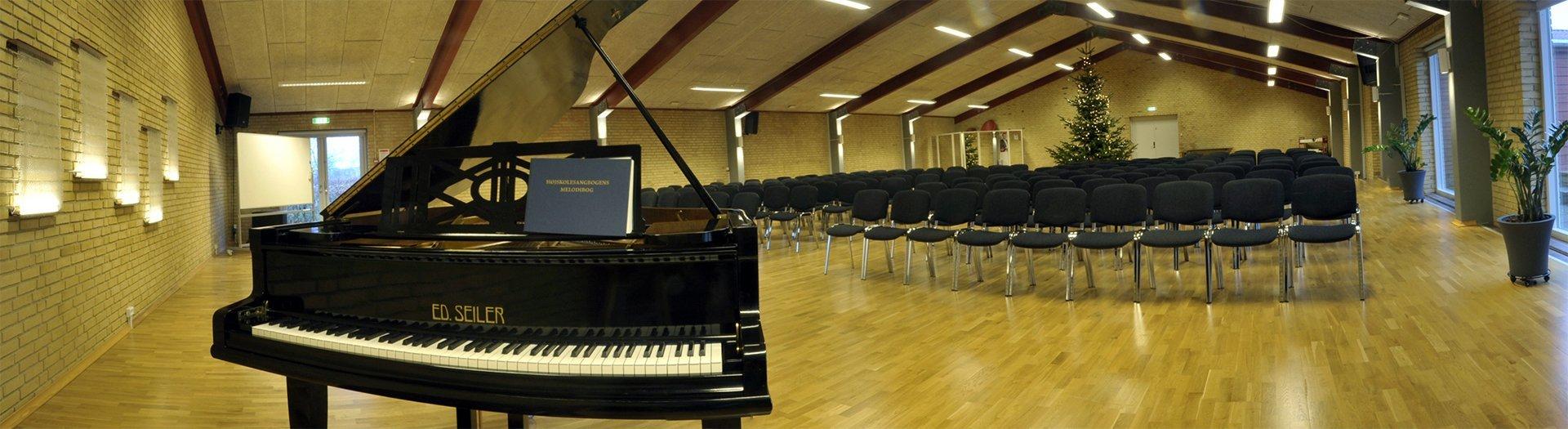 multisalen Nørgaards Højskole faciliteter web