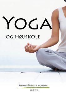 Yoga og højskole på Nørgaards Højskole 2017