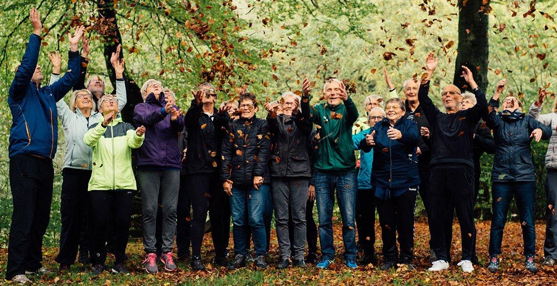 Aktivt seniorliv på Nørgaards Højskole glæde humør og højskolesang